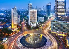 The heart of Jakarta: The capital of Indonesia, Jakarta, is the most affordable destination in the world for a city break, after Hanoi, according to a recent study released by TripAdvisor. (Photo courtesy of Mandarin Oriental Jakarta) Places Around The World, The Places Youll Go, Places To See, Around The Worlds, Mandarin Oriental, Bali, Borneo, Ubud, Beautiful World