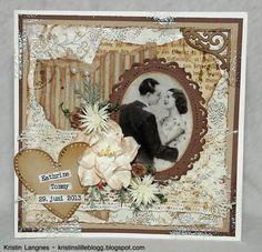 Kristins lille blogg: Bryllupskort