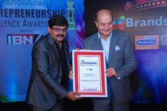 Mr. Sushil Agrawal, Managing Director, Madhya Advertising Private Limited Dhirubhai Ambani, Excellence Award, Entrepreneurship, Awards, Advertising