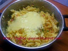 Τα φαγητά της γιαγιάς - Μακαρονόπιτα χωριάτικη Chicken, Meat, Food, Essen, Meals, Yemek, Eten, Cubs
