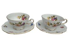Mitterteich Bavaria Teacups, Set of 2 from Germany on OneKingsLane.com
