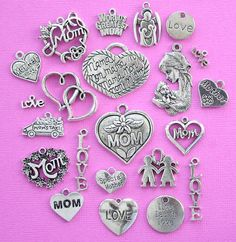 Deluxe Mother Charm Collection Antique Tibetan by BohemianFindings, $4.95
