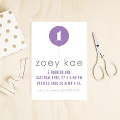 Let Basic Invite be a part of your special day with fully customizable birthday invitations for all ages. Turning One, First Birthday Invitations, Special Day, First Birthdays, Rsvp, Birthday Parties, Place Card Holders, Anniversary Parties, One Year Birthday