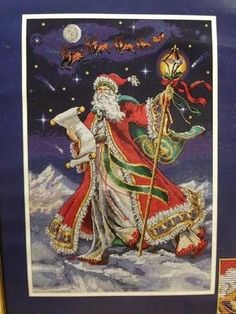 Dimensions Gold Collection Christmas Midnight Ride Counted Cross Stitch Kit 8617 | eBay