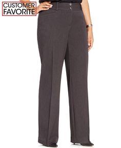 0674c896540 Alfani Plus Size Curvy-Fit Slimming Bootcut Pants