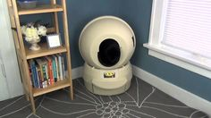 Cleaning the cat litter box is now as simple as changing a kitchen garbage bag every few days. If you have several cats, the Litter-Robot™ drawer may still n...