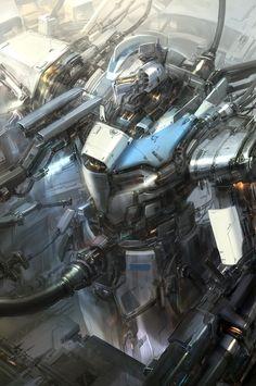 robot by paperblue - Jae Cheol Park - CGHUB via PinCG.com