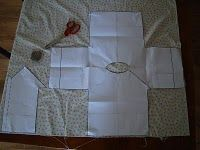 Yay!  Someone wrote some LOGICAL instructions for the Martha Stewart Baby Kimono top.  Nice and easy to follow!