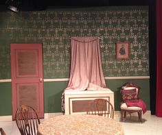 Arsenic and Old Lace set at Hiland High School, Berlin OH, May 2014