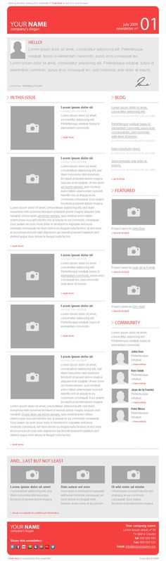 Inspiration & Ressources : 15 Newsletters originales - inspiration-ressources