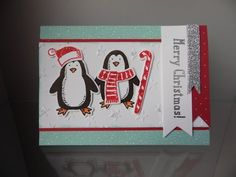 Stampin´ Up! tutorial nr. 6: Bundle Snow Place Stamp Set + Snow Friends Framelits Dies - YouTube