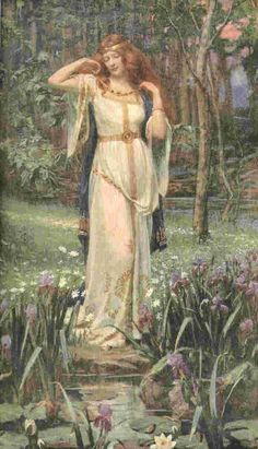James Doyle Penrose - Freyja and the Necklace, 1890