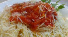 Μακαρόνια με σάλτσα για ένα απλό και τέλειο φαγητό