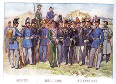 greek military | File:Greek Army uniforms, 1851-1868.jpg - Wikipedia, the free ...
