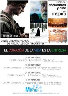 Escuelas Viatorianas de España: (4/4) MADRIAMANÁ: CICLO DE CINE Y ENCUENTROS