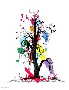 tree ...by Mark Ashkenazi