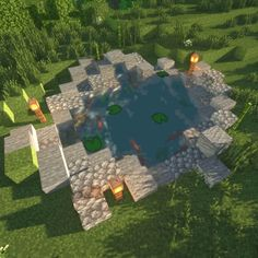 Minecraft Aesthetic: Photo - Minecraft, Pubg, Lol and Casa Medieval Minecraft, Cute Minecraft Houses, Minecraft Plans, Amazing Minecraft, Minecraft Room, Minecraft House Designs, Minecraft Survival, Minecraft Tutorial, Minecraft Blueprints