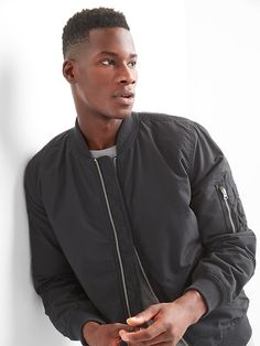 Classic bomber jacket-I just picked this baby up, love