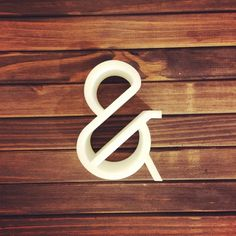 Paris Pro Typeface 3d Ampersand! Love it! http://instagram.com/p/vPnn9MAqyy/