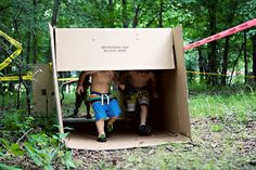Mud run party. Create an obstacle course for kids. 5.31.11-04 by AshleyAnn**, via Flickr