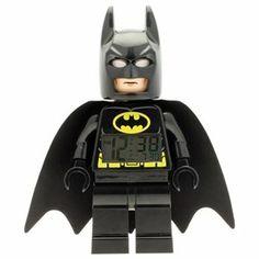 Super Heroes Batman LEGO Minifigure Clock 1 of 2