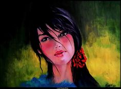 oil painting by rainNsunshine...