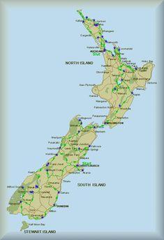 New Zealand Kort Google Sogning