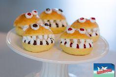 Panini dolci di Halloween con Dolceneve e confettura