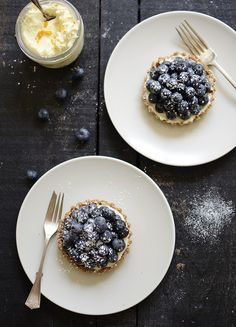 Blueberry Mascarpone Tartlet | verses from my kitchen