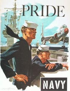 Navy Pride. I used to have this recruiting poster.