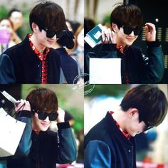 150301 SHINee Onew - Gimpo Airport to Japan