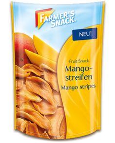 Packung Farmer's Snack Mangostreifen