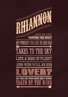 """""""Take to the Sky, like a Bird in Flight"""" -Rhiannon (Fleetwood Mac). / LOVE this song. Fleetwood Mac is just amazing. Music Love, Music Is Life, My Music, Stevie Nicks Fleetwood Mac, Fleetwood Mac Lyrics, Stevie Nicks Quotes, My Favorite Music, My Favorite Things, Soundtrack To My Life"""