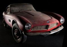 After four decades of storage, Elvis�s BMW 507 to undergo restoration | Hemmings Daily