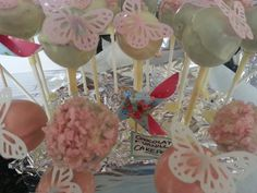 Making pink and white, vanilla spong and chocolate cake pops to add to the fun of our christening for little miss vista on a budget of £100 or less. Read more here: http://www.lifeonvista.com/2015/02/the-baptism-budget-9-christening-cake-2.html
