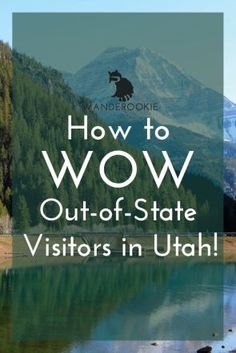 How to Wow Out-of-State Visitors in Utah! Want to take your visiting family or friends on an impressive hike? Learn how to plan for altitude change and more! Staycation #travel #frugal Frugal Staycation Ideas
