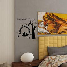 wallsticker flower-swing Wallpaper interior Design