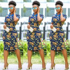 Très Belle Ankara Styles To Rock This Season - AfroCosmopolitan African Fashion Designers, African Fashion Ankara, African Inspired Fashion, African Print Fashion, Africa Fashion, African Prints, African Patterns, Ghanaian Fashion, African Style