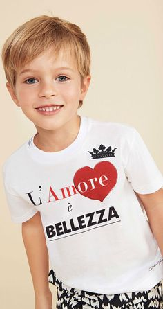 Shop Dolce & Gabbana Designer Kids Clothing from Italy at Leading Children's Stores. Boy Haircuts Long, Boys Long Hairstyles, Young Cute Boys, Kids Photography Boys, Dolce And Gabbana Kids, Blonde Boys, Beautiful Children, Beautiful Boys, Beautiful Pictures