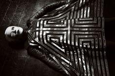 Daphne Guinness photographiée par Bryan Adams