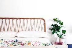 mueble de caña artesanal