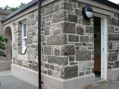 Scottish Whinstone walling