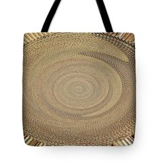 Digital Bowl Abstract #9825 Tote Bag by Tom Janca.  The tote bag is machine washable, available in three different sizes, and includes a black strap for easy carrying on your shoulder.  All totes are available for worldwide shipping and include a money-back guarantee.