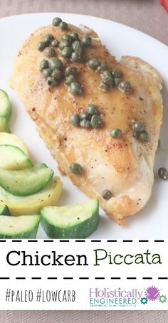 Chicken Piccata #paleo #lowcarb