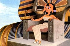 Cleopatra, Cartoon Drawings, Cartoon Art, Egyptian Drawings, Art Mignon, Art Disney, Cartoon Profile Pictures, Anime Screenshots, Vintage Cartoon