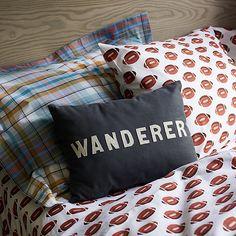 Wanderer Throw Pillow | The Land of Nod