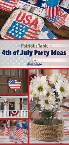 ideas for july 4th summer wedding