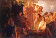 King Wladislaw Lokietek in exile (Władysław Łokietek na wygnaniu) - Wojciech Gerson