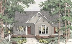 Open Floor Plan - 6293V | Cottage, Country, Traditional, 1st Floor Master Suite, CAD Available, Carport, PDF, Corner Lot | Architectural Designs