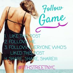 HELP ME GET TO 15K FOLLOWERS!!! 💞🎉💞 My first follow game! Help me get to 15K followers! I will follow everyone who follows me!   1. Like this post 2. Follow me  3. Follow everyone else who's liked this post 4. Share, Share, Share!!!  Posh compliant closets only please ladies. 💋  Also please tag your PFF's! That would be awesome! I'd love to get to know more people in the Poshmark community! Have fun & spread the word!! Bags